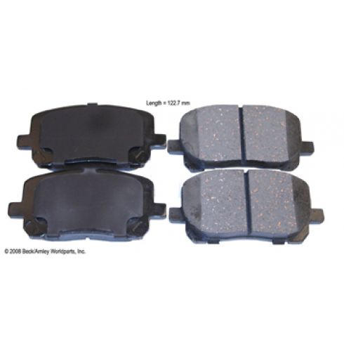 03-08 Toyota Corolla, Matrix Front OE Sumitomo Disc Brake Pad Set