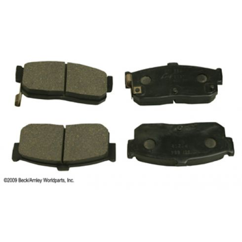 91-01 Infiniti; 93-01 Nissan Multifit Rear OE Sumitomo Disc Brake Pad Set