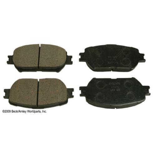 06-11 Lexus; 02-06 Toyota Multifit Front OE Sumitomo Disc Brake Pad Set