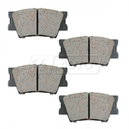 07-11 Lexus; 06-11 Toyota Multifit Rear OE Advics Disc Brake Pad Set