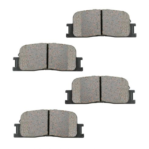 02-06 Lexus; 01-06 Toyota Multifit Rear OE Sumitomo Disc Brake Pad Set