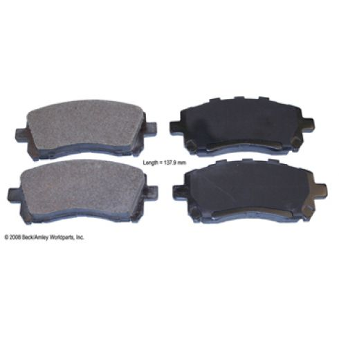 97-02 Subaru Forester Impreza Legacy Outback Front OE Advics Disc B97-02 Subaru Forester Impreza Legacy Outback Front OE Advics Disc Brake Pad Setrake Pad Set