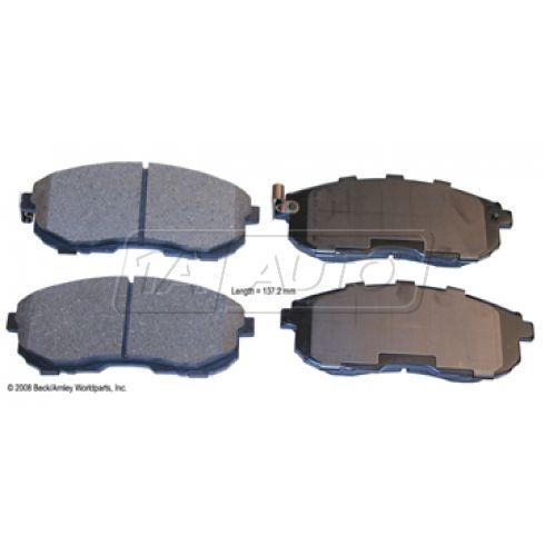 96-02 Infiniti; 95-02 Nissan; 07-09 Suzuki Front OE Advics Disc Brake Pad Set