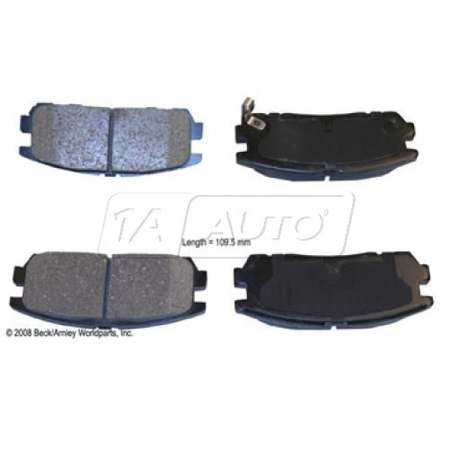 96-99 Acura; 94-02 Honda; 92-04 Isuzu Multifit Rear OE Advics Disc Brake Pad Set