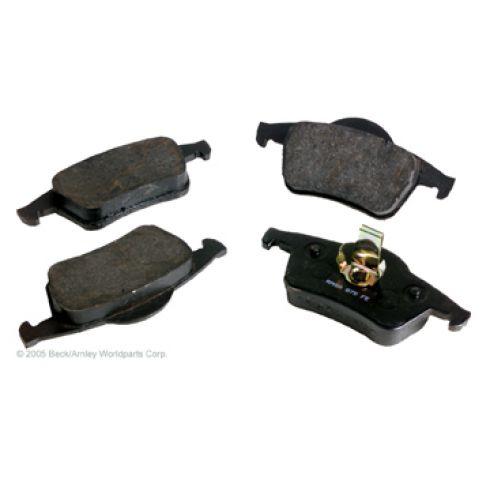 99-09 Volvo S60 S80 V70 XC70 Rear OE ATE Disc Brake Pad Set