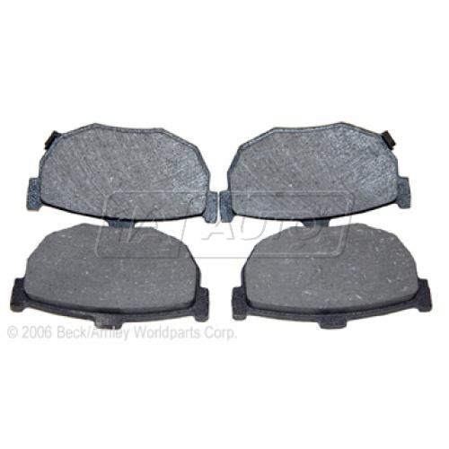 94-07 Hyundai; 85-92 Nissan Multifit Rear OE Advics Disc Brake Pad Set