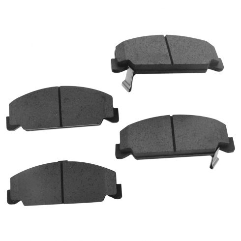 84-85 Honda Accord, 88-00 Civic, 93-97 Del Sol, 88-91 CRX Front OE Nissin Disc Brake Pad Set