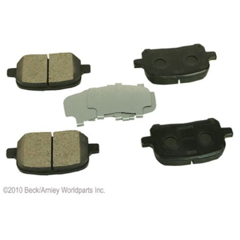 97-01 ES300; 99-01 RX300; 98-04 Avalon; 97-01 Camry; 99-03 Solara Front OE Sumitomo Disc Brk Pad Set