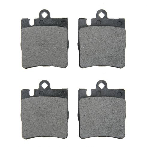 96-09 MB C, CLK, E, SLK Series Rear OE Mintex Disc Brake Pad Set