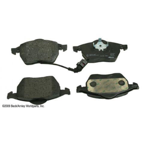 03-06 Audi TT, 02-06 TT Quat; 00-04 Beetle, 00-06 Golf, 00-05 Jetta Front OE Textar Disc Br Pad Set