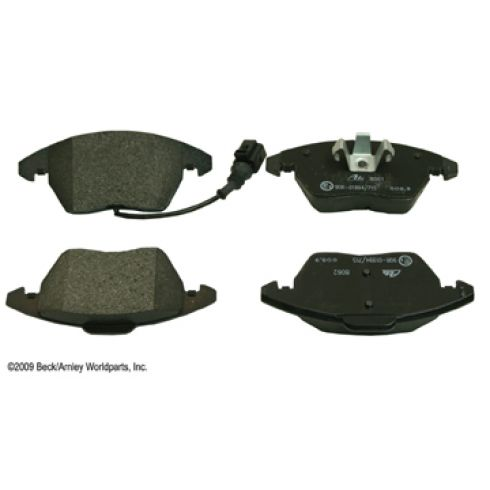 06-11 Audi A3; 05-11 VW Multifit Front OE ATE Disc Brake Pad Set