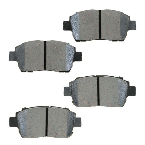 04-06 Scion xA, xB; 00 Celica, 01-05 Echo, 00-05 MR2, 01-09 Prius Front OE Advics Disc Brake Pad Set