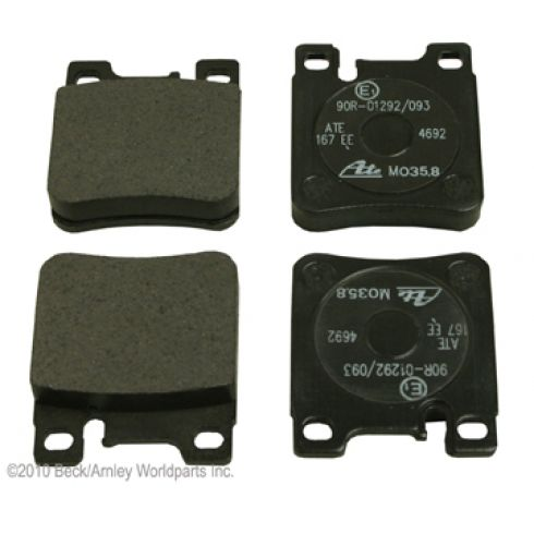 92-09 MB 300, 400, 500, C, CL, CLK, E, S, SL, SLK Series Rear OE ATE Disc Brake Pad Set