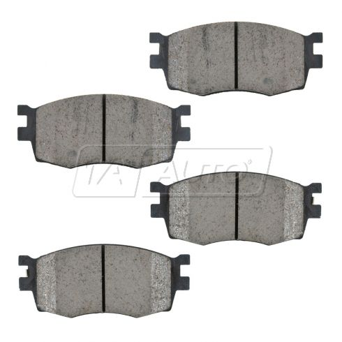 06-11 Hyundai Accent, Kia Rio; 06-10 Rio5 Front OE Genuine Disc Brake Pad Set