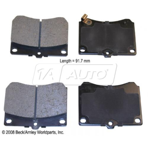 91-97 Ford Escort; 92-95 Mazda MX-3; 90-98 Protege; 91-94 Tracer Front OE Advics Disc Brake Pad Set