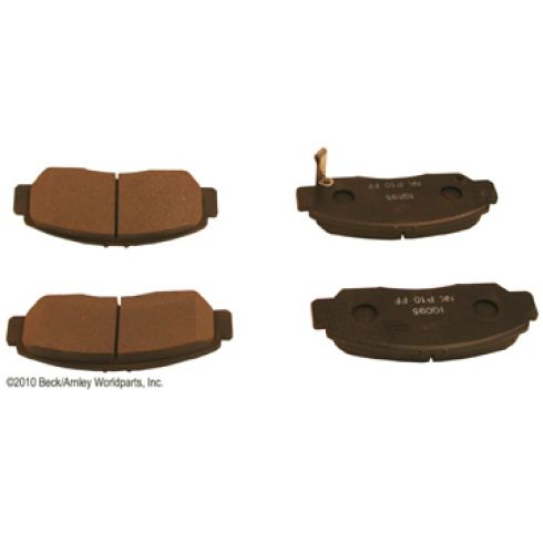 03-07 Honda Accord Front OE Nissin Disc Brake Pad Set