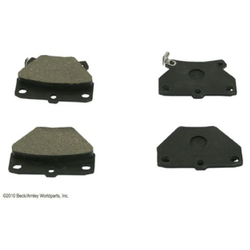 00-05 Toyota Celica; 05-06 Corolla; 03-06 Matrix Rear OE Advics Disc Brake Pad Set