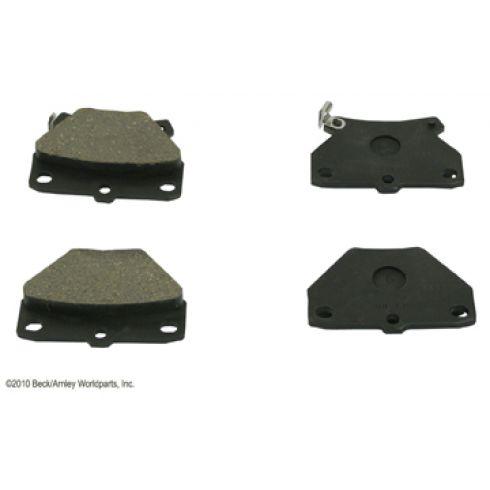 00-05 Toyota Celica; 05-06 Corolla; 03-06 Matrix Rear OE Advics Disc Brake Pad Set