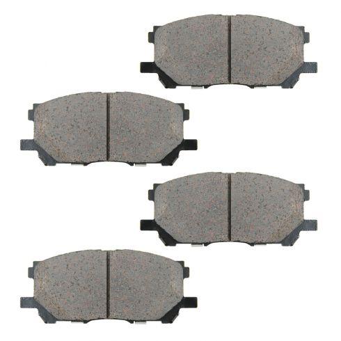 04-06 Lexus RX330; 07-09 RX350; 06-08 RX400H; 06-07 Highlander Front OE Sumitomo Disc Brake Pad Set