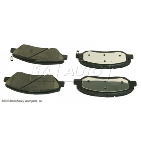 07-08 Hyundai Entourage, 07-09 Sante Fe, 06-11 Sedona Front OE Genuine Disc Brake Pad Set