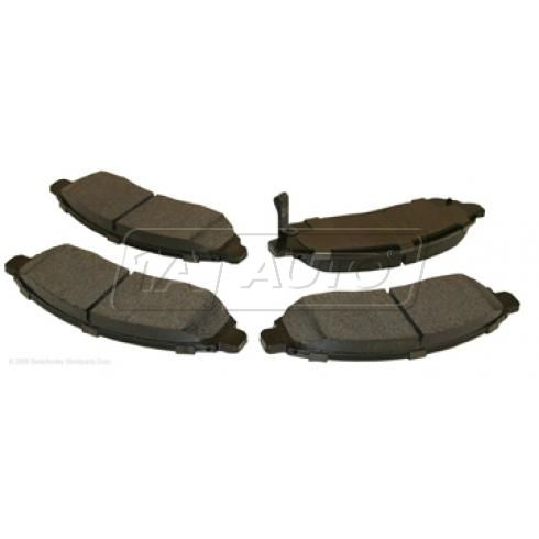 05-11 Frontier, 05-10 Pathfinder, Xterra; 09-10 Suzuki Equator Front Hitachi Disc Brake Pad Set