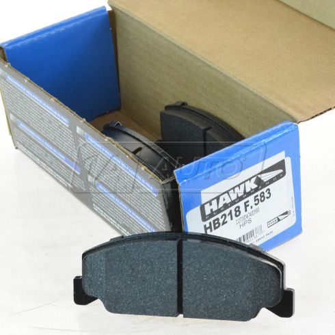 90-02 Accord Acura CL Brake Pads front for cars with 4 lug wheels & Rear Drum HP