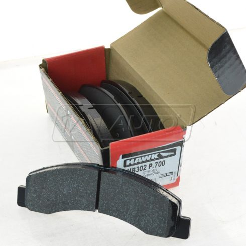 99-04 F250, F350; 00-05 Excursion, Front Brake Pads Superduty (Hawk)