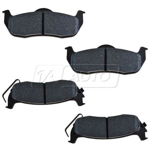 05-07 Titan, Armada Performance Brake Pad Rear LTS (Hawk)