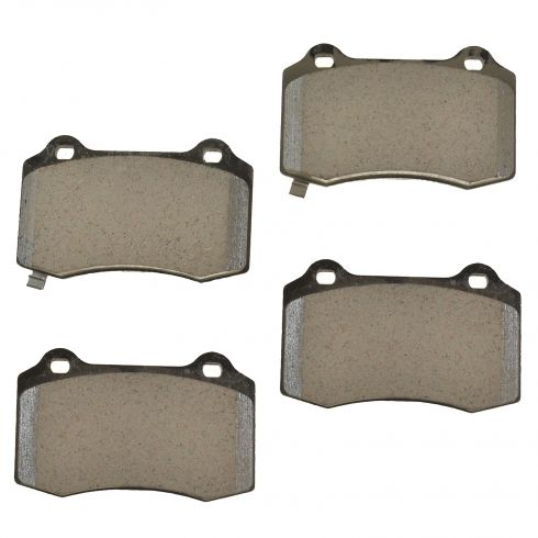 12-15 Jeep Grand Cherokee SRT8 Brembo Rear Disc Brake Pad Set (Mopar)