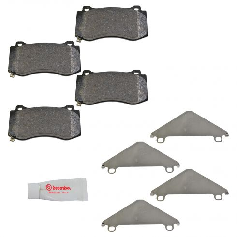 06-10 Jeep Grand Cherokee SRT8 Front Brembo Disc Brake Pad Set (Mopar)