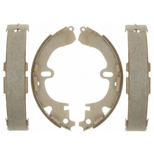 Raybestos Service Grade Brake Shoe Set - Rear 597SG