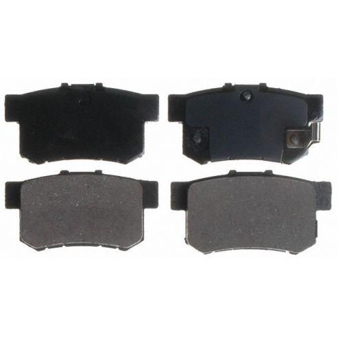 Raybestos Service Grade Disc Brake Pads - Ceramic - Rear SGD537C