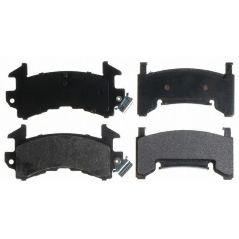 Raybestos Service Grade Disc Brake Pads - Semi-Metallic - Front SGD154M