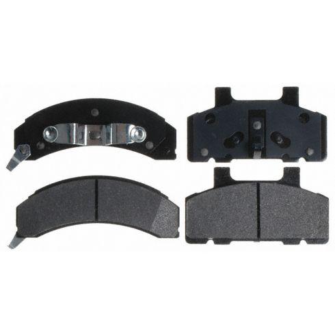 Raybestos Service Grade Disc Brake Pads - Semi-Metallic - Front SGD215M
