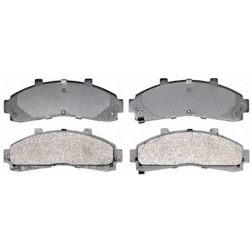 Raybestos Service Grade Disc Brake Pads - Semi-Metallic - Front SGD652M