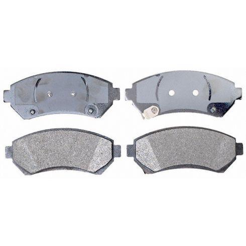 Raybestos Service Grade Disc Brake Pads - Semi-Metallic - Front SGD699M