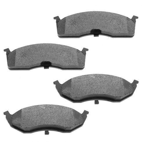 Raybestos Service Grade Disc Brake Pads - Semi-Metallic - Front