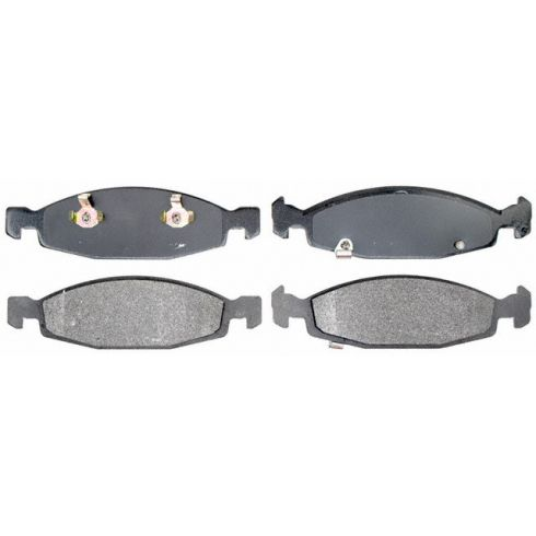 Raybestos Service Grade Disc Brake Pads - Semi-Metallic - Front SGD790M