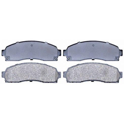 Raybestos Service Grade Disc Brake Pads - Semi-Metallic - Front SGD833M