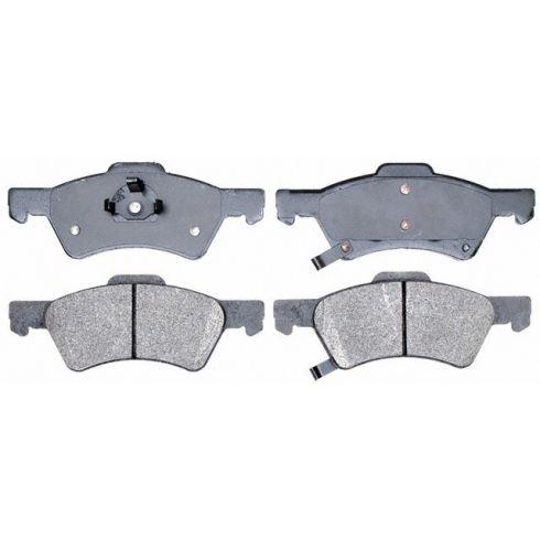 Raybestos Service Grade Disc Brake Pads - Semi-Metallic - Front SGD857M