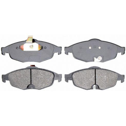 Raybestos Service Grade Disc Brake Pads - Semi-Metallic - Front SGD869M