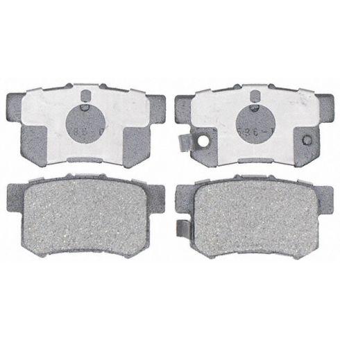 Raybestos Service Grade Disc Brake Pads - Ceramic - Rear SGD536C