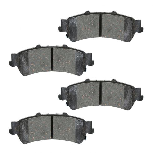 Raybestos Service Grade Disc Brake Pads - Ceramic - Rear SGD792C