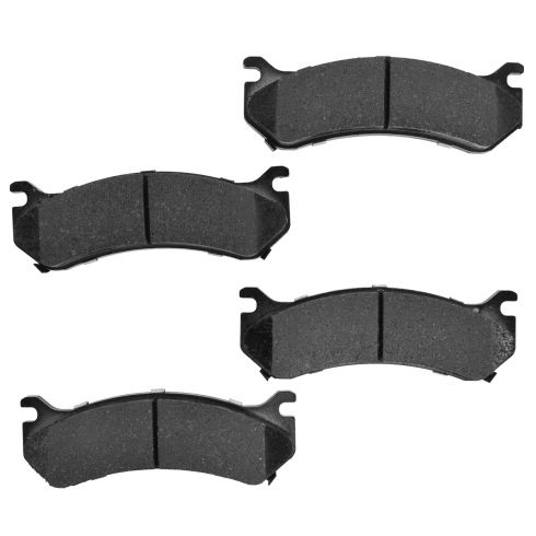 Front Element 3 Hybrid Disc Brake Pads w/ HW (Raybestos EHT785H)