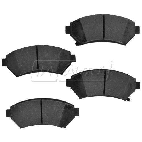 Front Element 3 Hybrid Disc Brake Pads w/ HW (Raybestos EHT465AH)