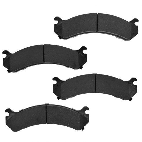 Front Element 3 Hybrid Disc Brake Pads w/ HW (Raybestos EHT784H)