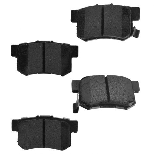 Rear Element 3 Hybrid Disc Brake Pads w/ HW (Raybestos EHT537H)