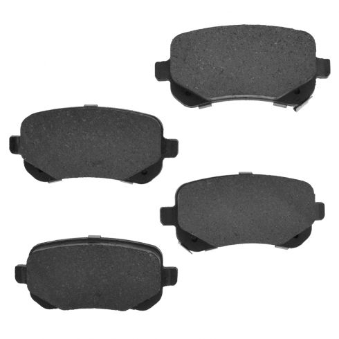 Rear Element 3 Hybrid Disc Brake Pads w/ HW (Raybestos EHT1326H)
