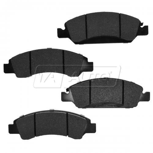 Front Element 3 Hybrid Disc Brake Pads w/ HW (Raybestos EHT1363H)