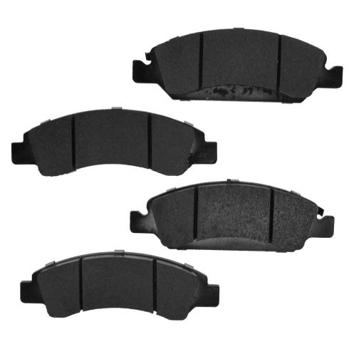 Front Element 3 Hybrid Disc Brake Pads w/ HW (Raybestos EHT1367H)